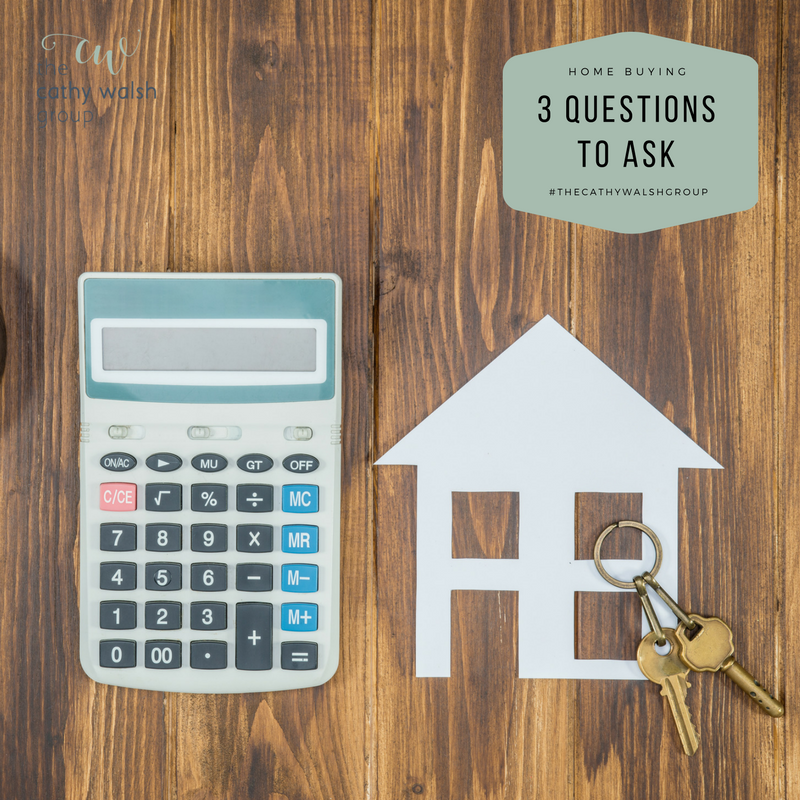 Thinking of Buying a Home in 2018? Three Questions to Ask. - The Cathy Walsh Group
