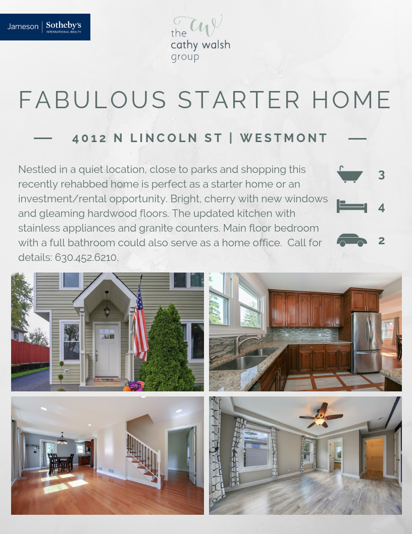 4012 N Lincoln St Westmont, IL 60559